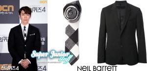 140514 Donghae in Neil Barrett
