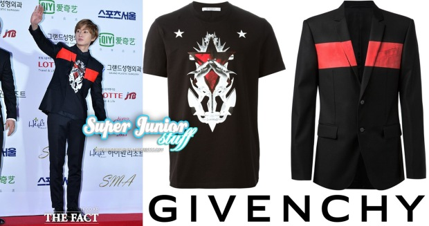 Eunhyuk SMA Givenchy