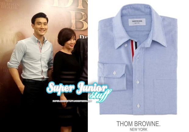 Siwon Thom Browne Shirt