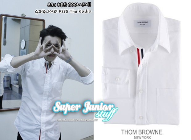 Donghae in Thom Browne