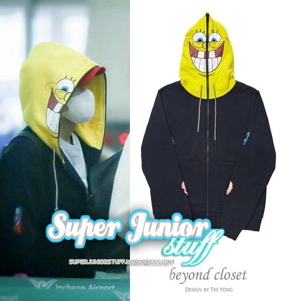 Ryeowook Beyond Closet X Spongebob
